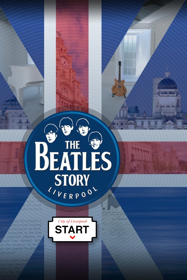 The Beatles Story Liverpool - splash screen