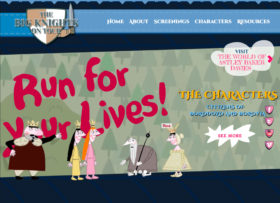 The Big Knights on Tour homepage