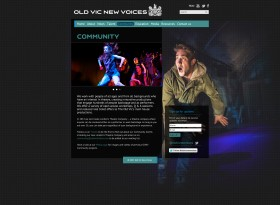 Old Vic New Voices 2013 - community page
