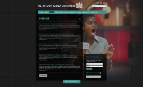 Old Vic New Voices 2013 - news page
