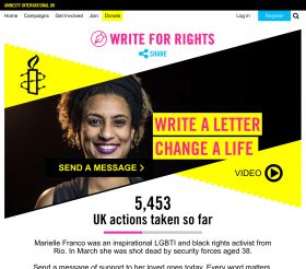 AIUK - Write for Rights homepage 2018