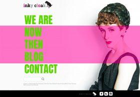 Inky Cloak Homepage - desktop