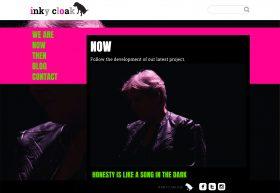 Inky Cloak NOW page - desktop