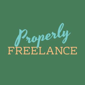 Properly Freelance final logo